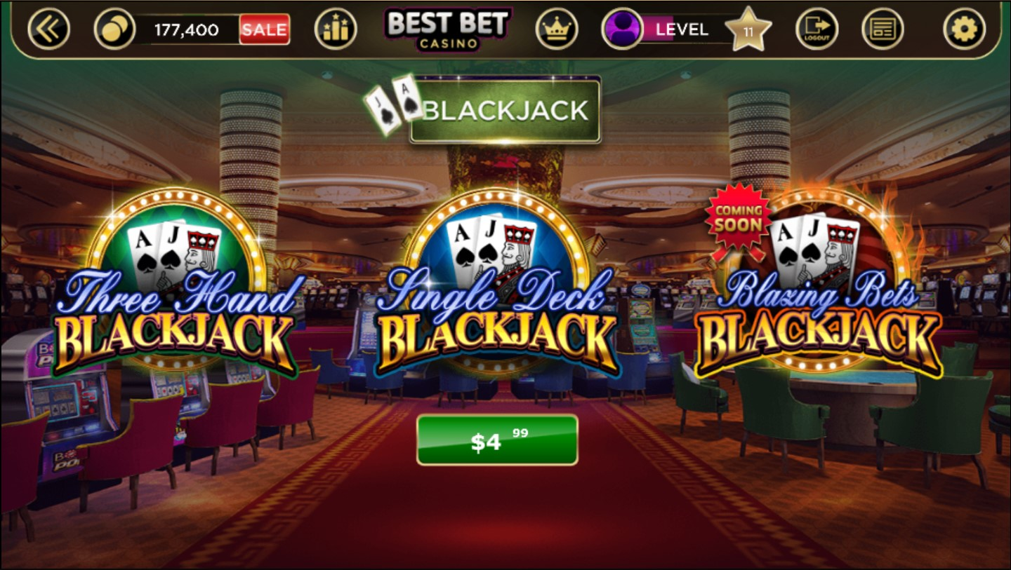free blackjack games